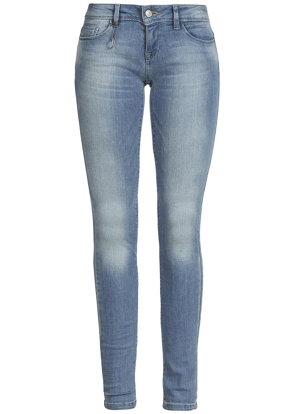 only damen skinny jeans coral 15110323 5 pocket style light blue denim 77onlineshop. Black Bedroom Furniture Sets. Home Design Ideas