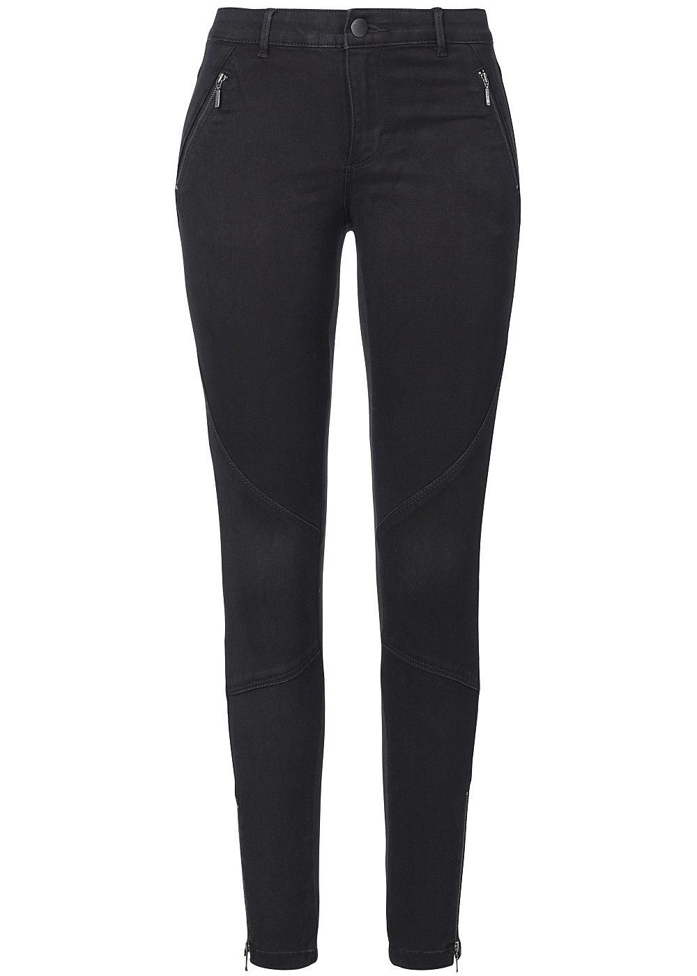 only damen skinny jeans moto 15103501 2 deko zipper zipper am bein. Black Bedroom Furniture Sets. Home Design Ideas