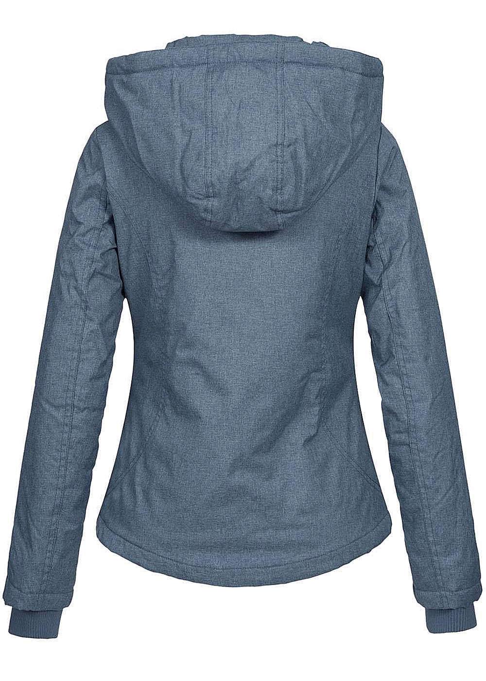 Eight2nine damen winterjacke wasserabweisend asym zipper