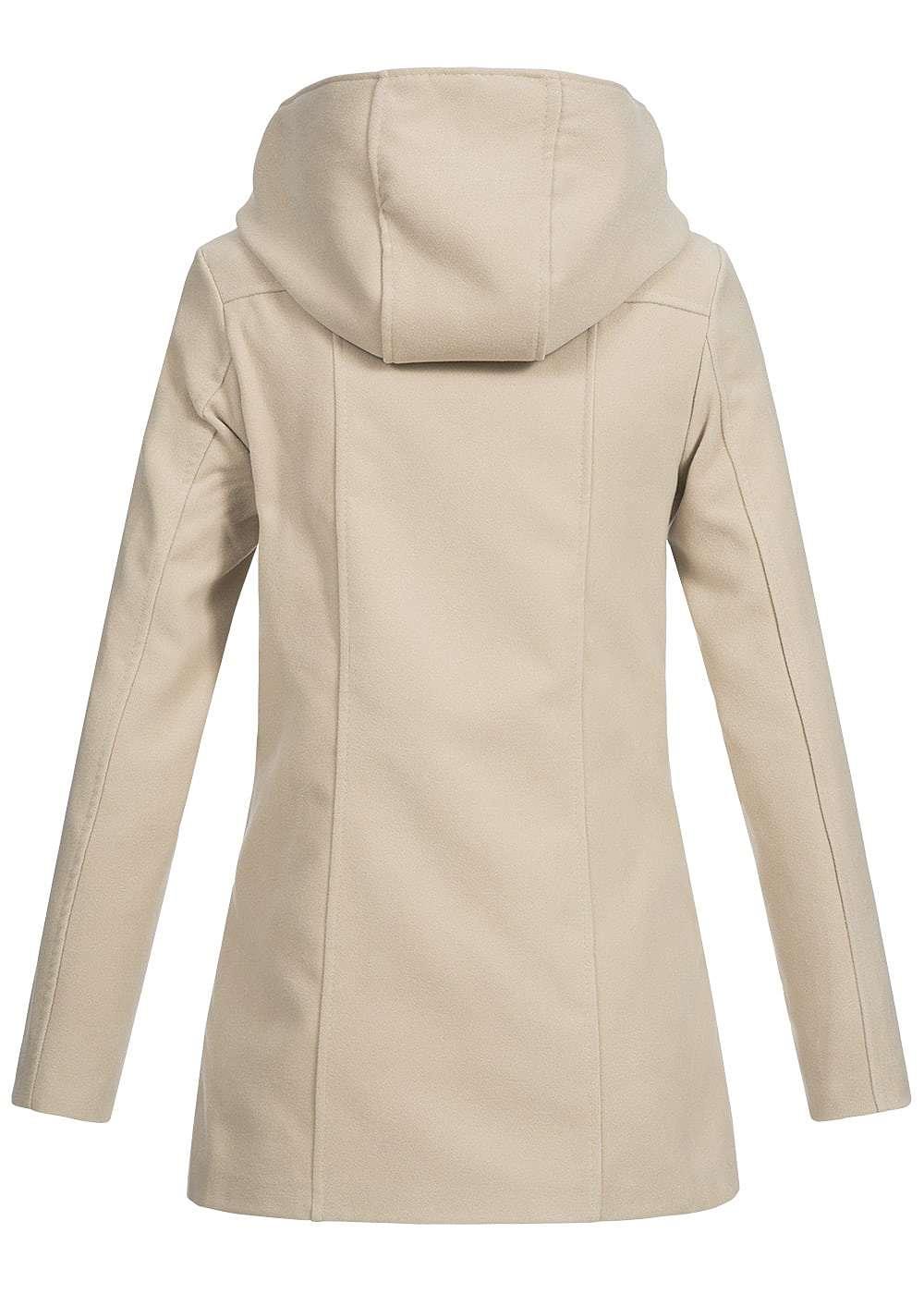 styleboom fashion damen fleece jacke asym zipper. Black Bedroom Furniture Sets. Home Design Ideas
