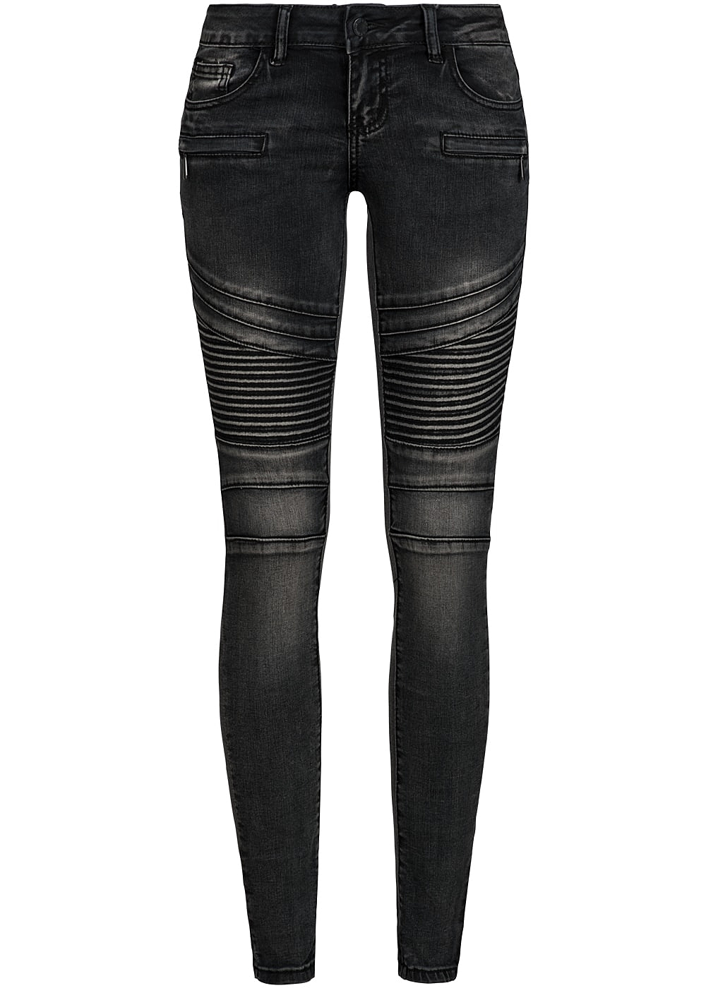 Jeans hose schwarz damen
