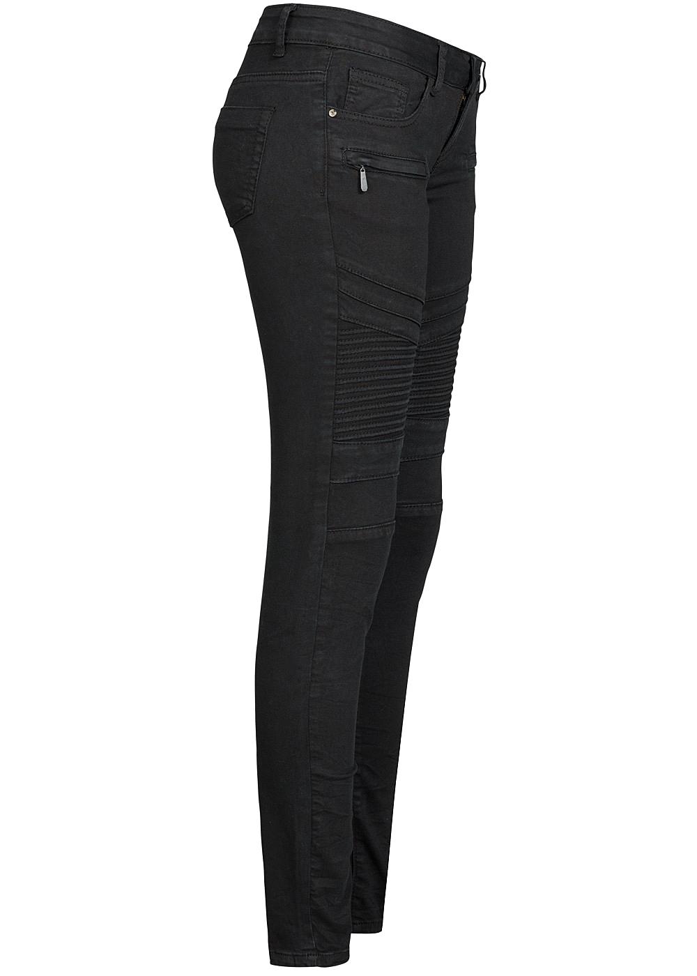 seventyseven lifestyle damen biker jeans hose 5 pockets 2. Black Bedroom Furniture Sets. Home Design Ideas