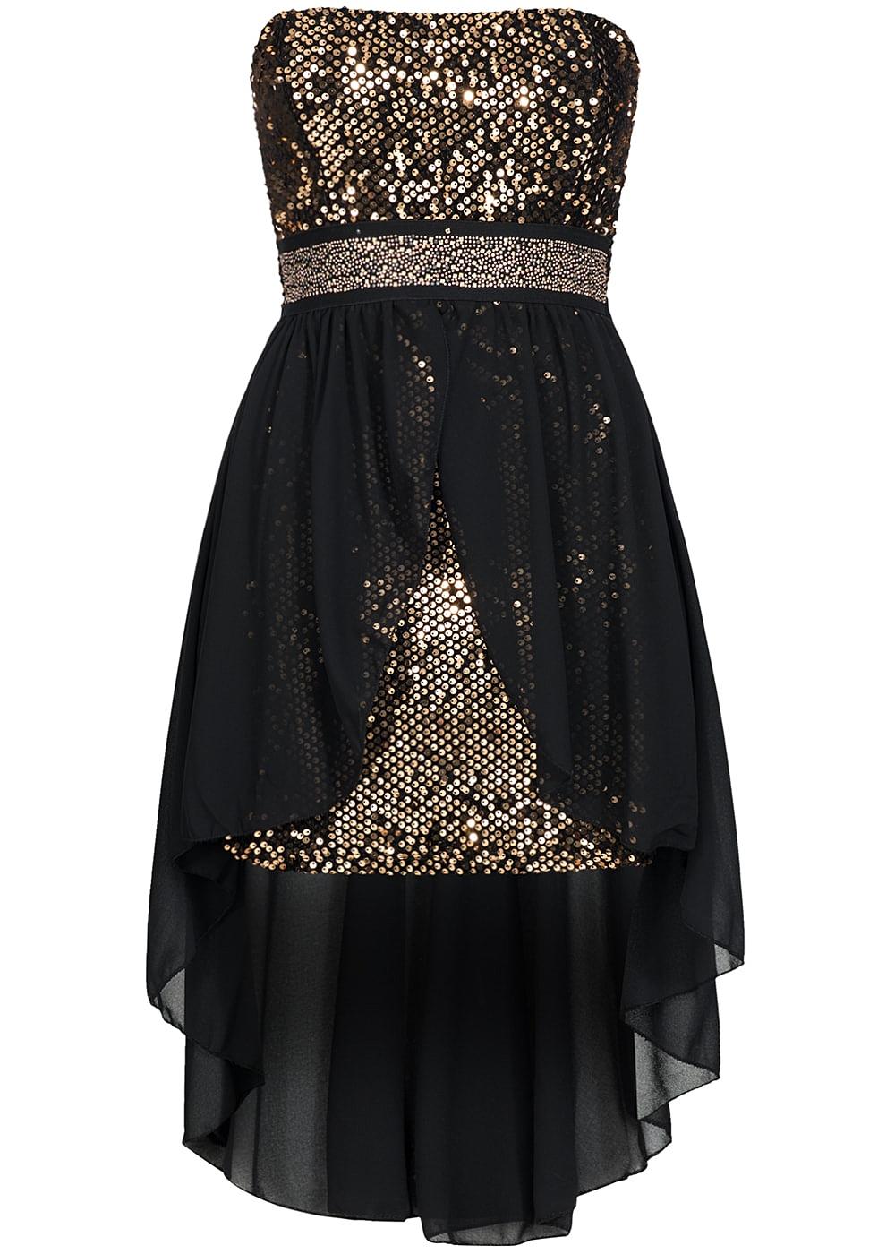 Kleider in schwarz gold