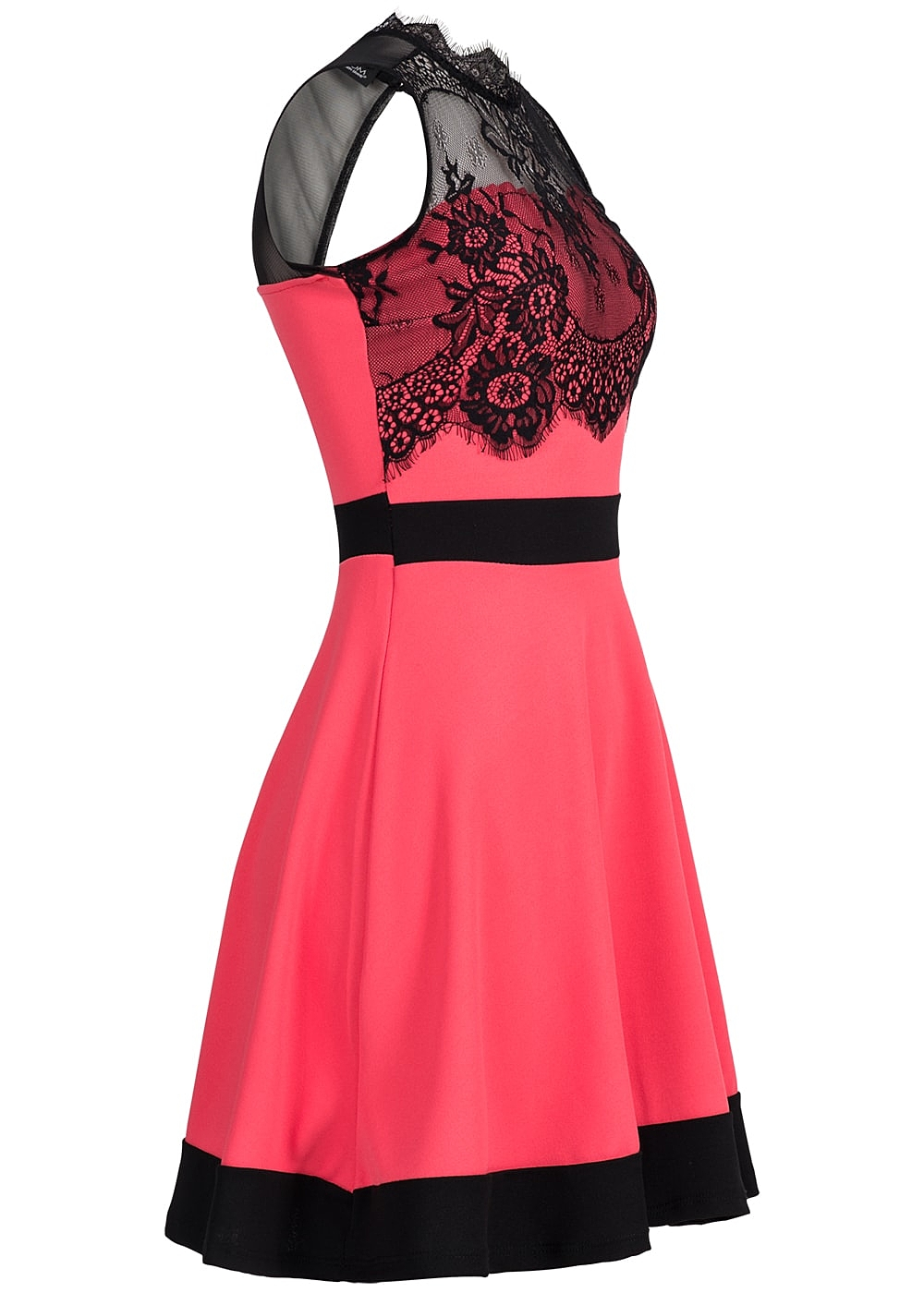 Only kleid coral