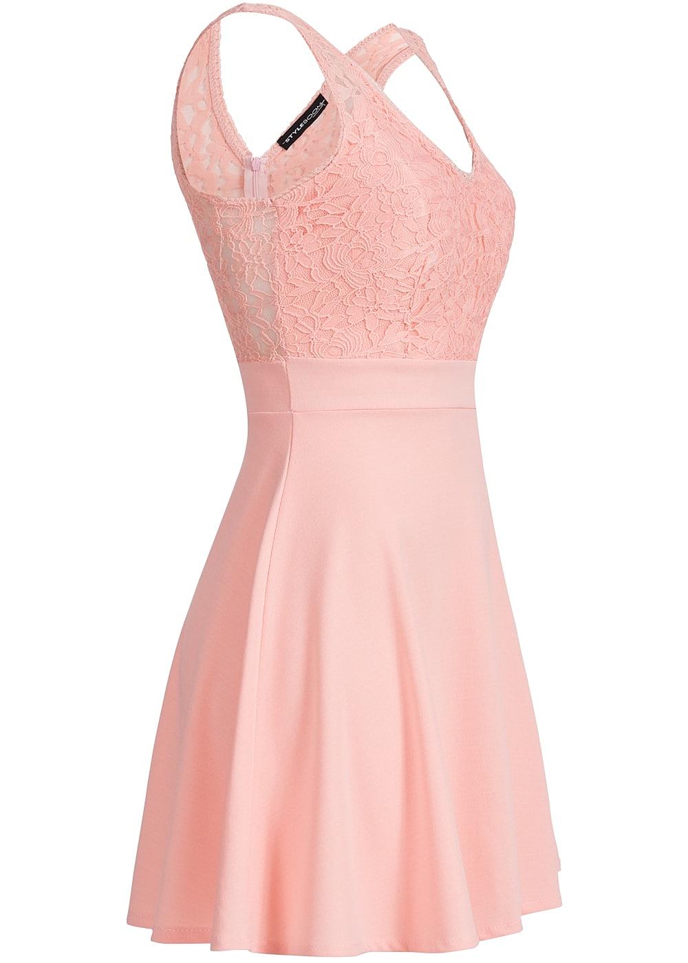 Kleid pink spitze