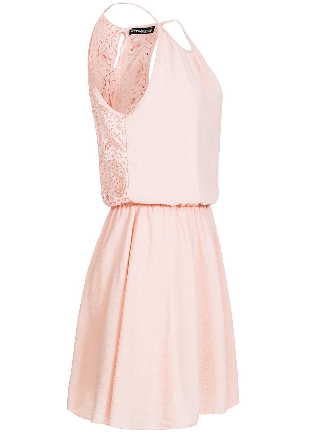 Rosa kleider midi