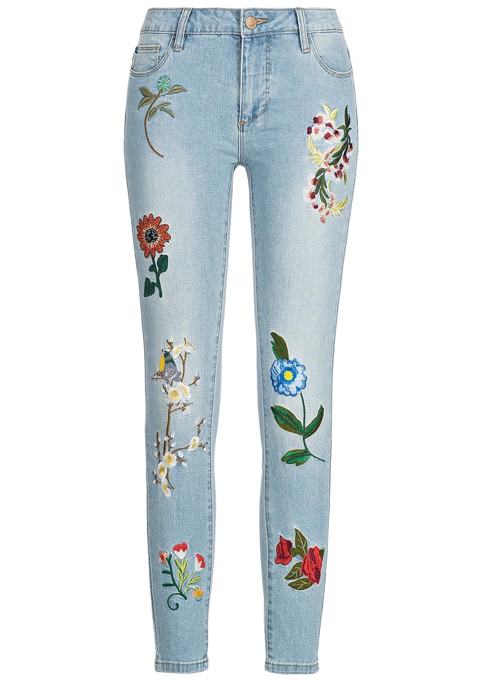 Freiraum suchen exquisites Design 60% Freigabe Jeans Mit Blumenmuster Only - Home Decor Wallpaper