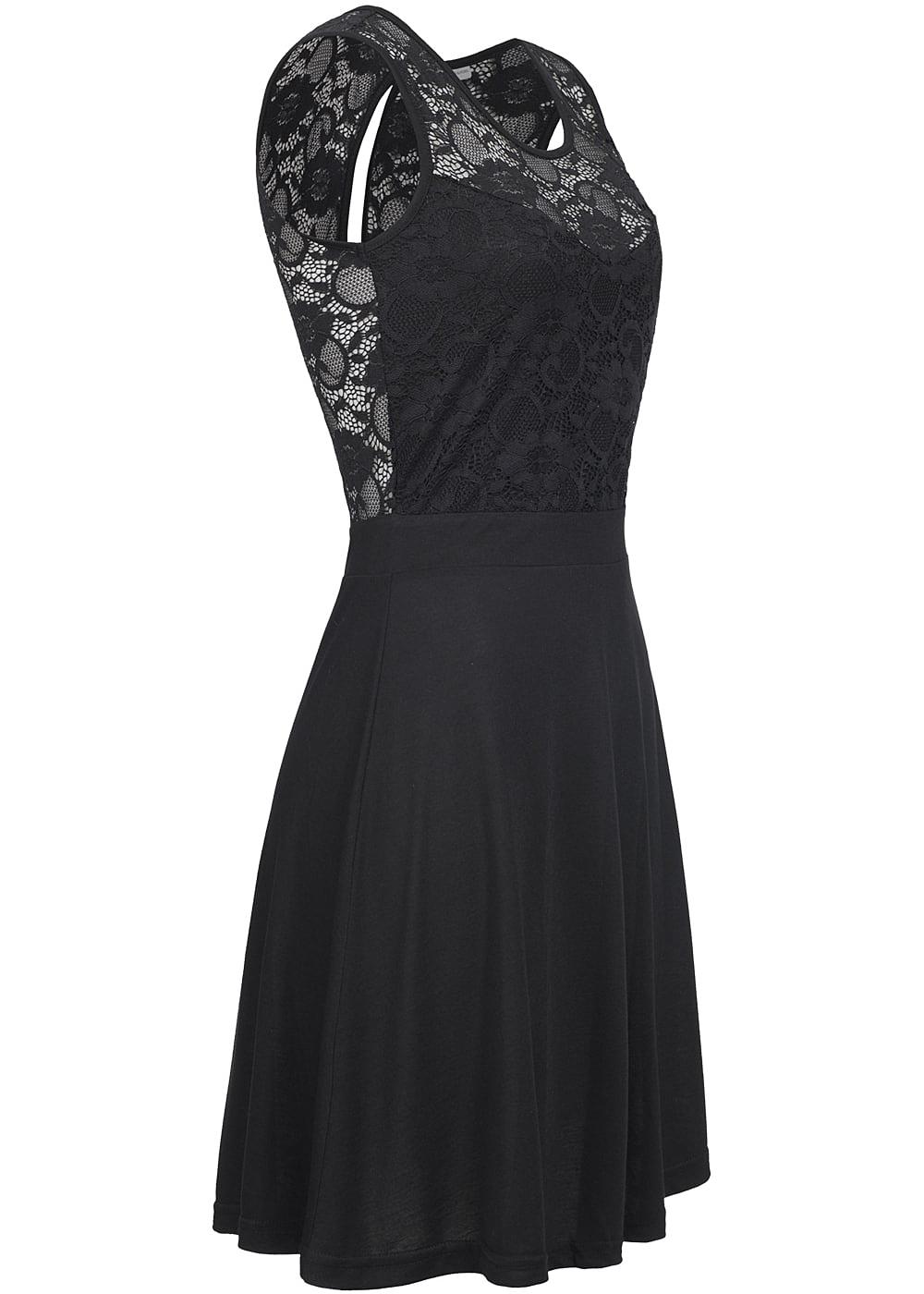 Kleid schwarz only