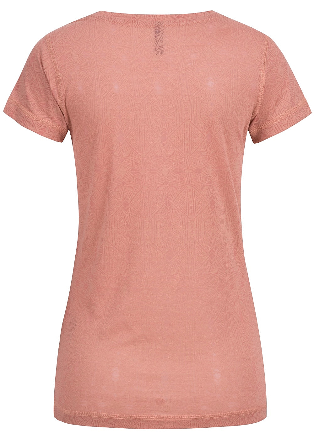 eight2nine damen t shirt knopfleiste by sublevel dark rose rosa 77onlineshop. Black Bedroom Furniture Sets. Home Design Ideas