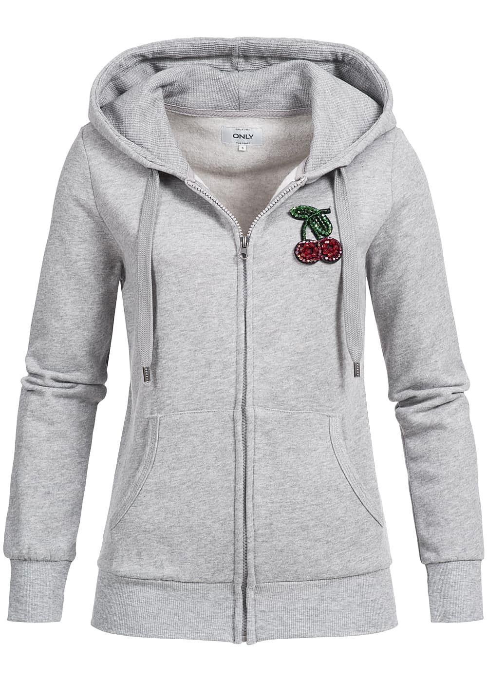 hoodie grau damen adidas originals trefoil logo hoodie kapuzenpullover roxy valley hoodie. Black Bedroom Furniture Sets. Home Design Ideas