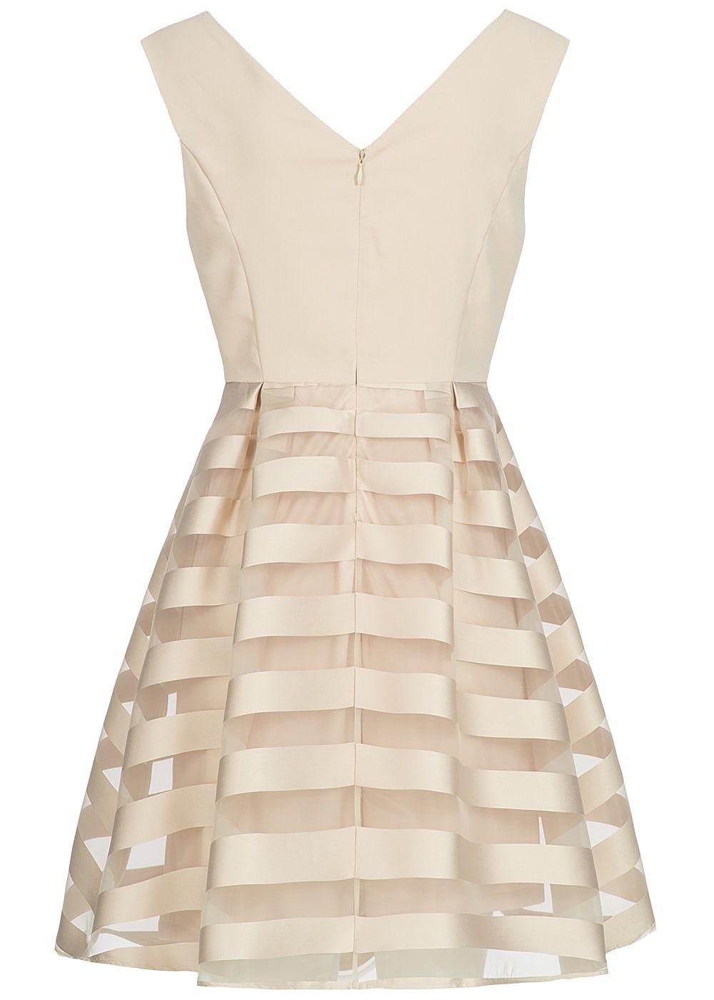 Kleid only beige