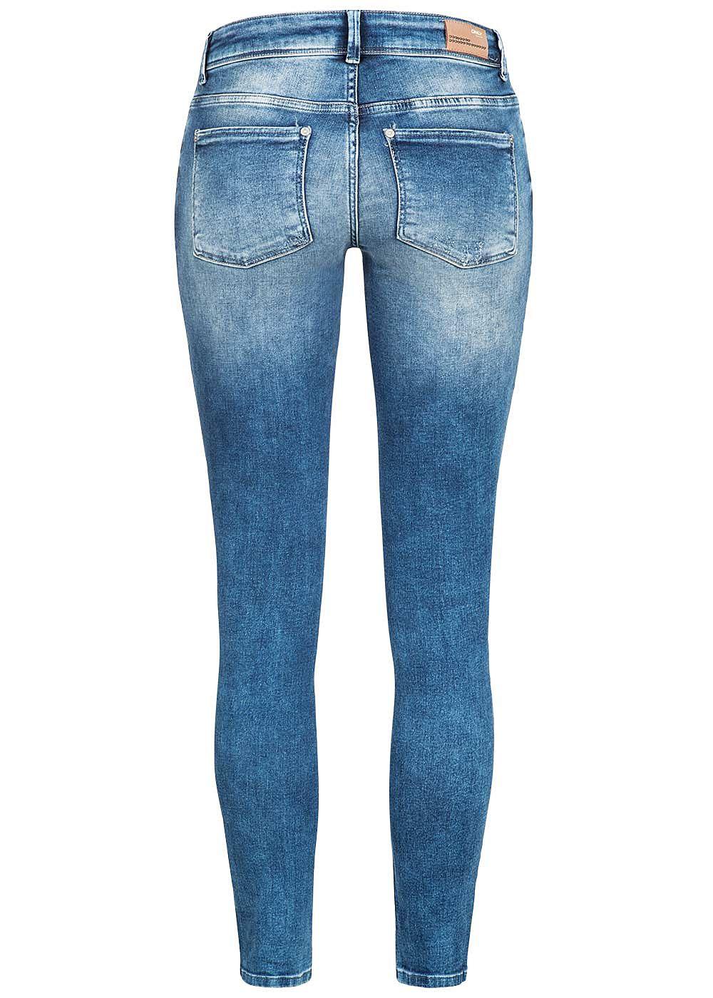 only damen skinny jeans hose 5 pockets destroy look. Black Bedroom Furniture Sets. Home Design Ideas