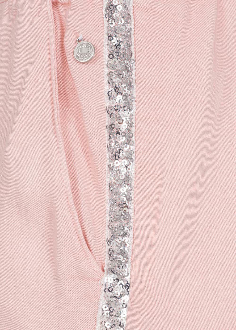 Eight2Nine Damen Stoff Hose 2 Taschen ballett rosa