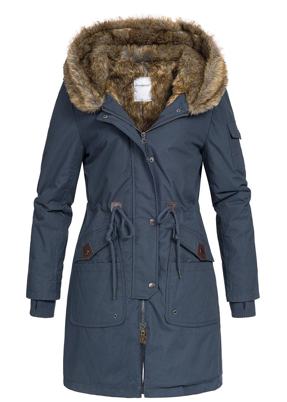 Blaue mantel jacke