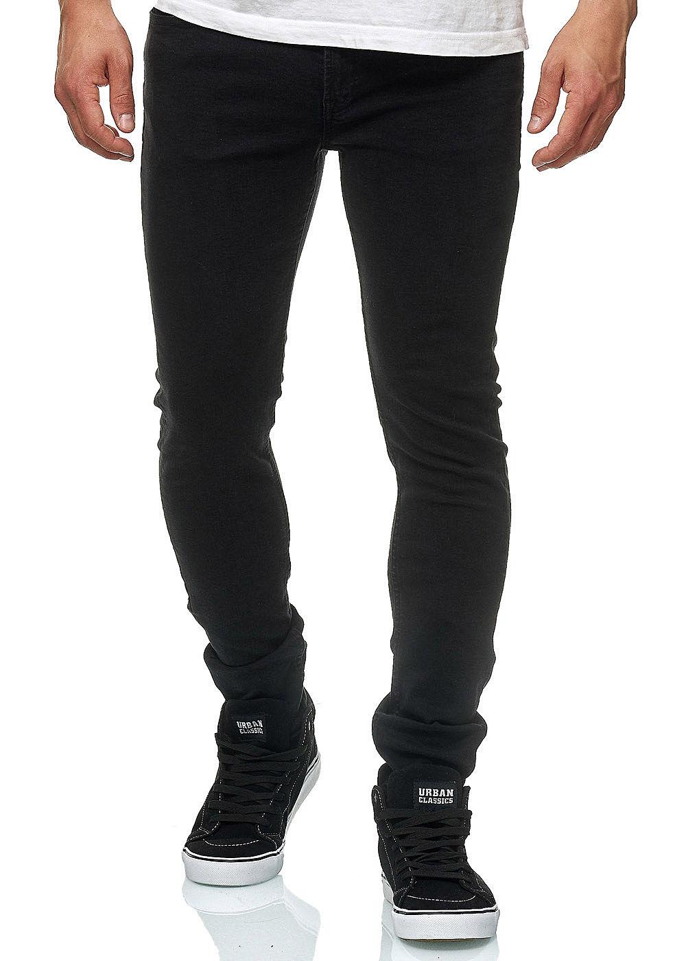 93d3e8dc2fbb25 Jack and Jones Herren Jeans Hose Slim Fit 5-Pockets schwarz denim ...