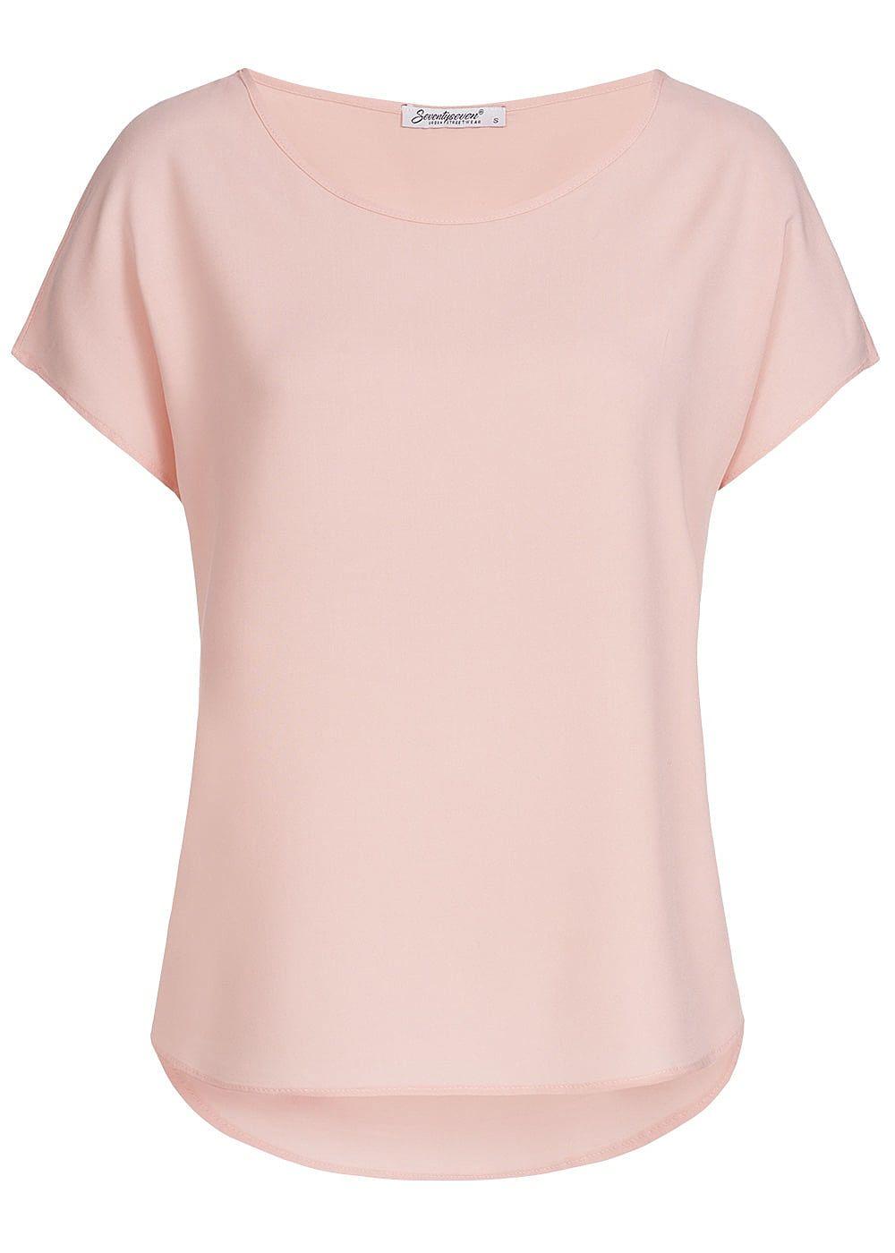 noch nicht vulgär riesige Auswahl an Super Specials Seventyseven Lifestyle Damen Blusen Shirt rosa - 77onlineshop