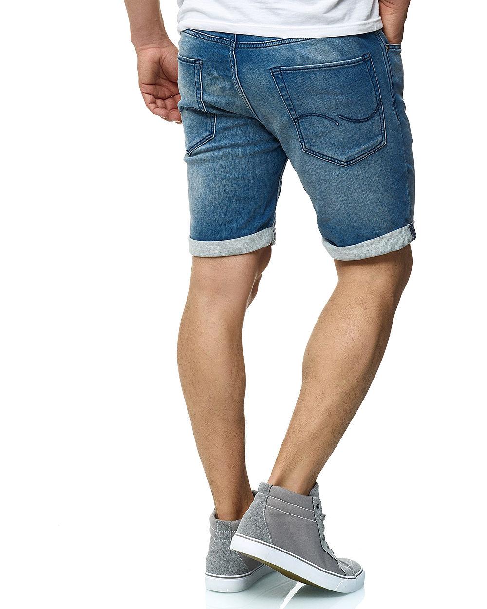 fantastische Einsparungen offizielle Bilder marktfähig Jack and Jones Herren Denim Bermuda Jeans Shorts 5-Pockets hell blau denim