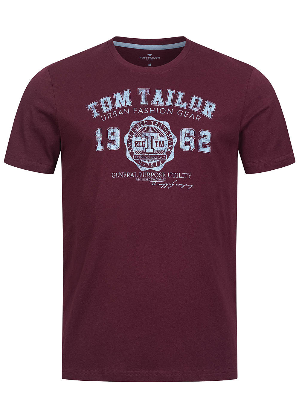 TOM TAILOR DENIM Damen Logo-Print T-Shirt