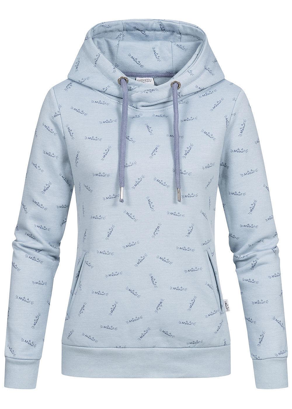 Kapuzenpullover Pullover STITCH & SOUL Damen Sweat Hoodie