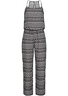 eight2nine damen jumpsuit allover print gummizug by. Black Bedroom Furniture Sets. Home Design Ideas