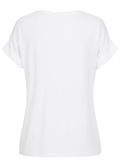 ONLY Women NOOS Solid T-Shirt white