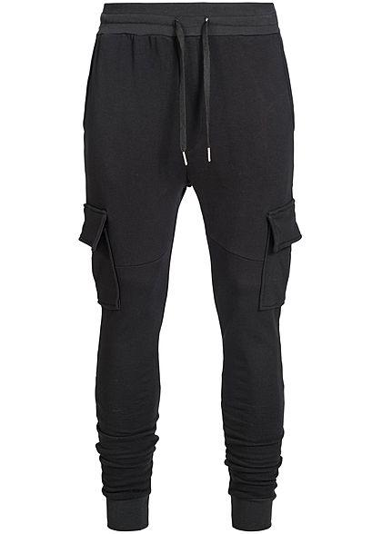 ac839245d468 4XL · Seventyseven Lifestyle Men Cargo Pocket Sweatpant black