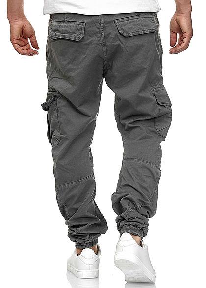 Urban Classics Men Cargo Jogging Pants 6-Pockets dark gray