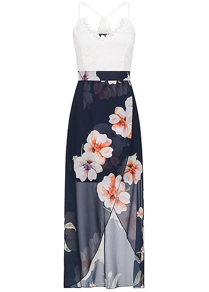 Styleboom fashion damen longform kleid militargrun