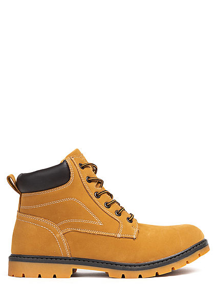 Urban Classics Men Shoe Basic Winter Boots honey brown