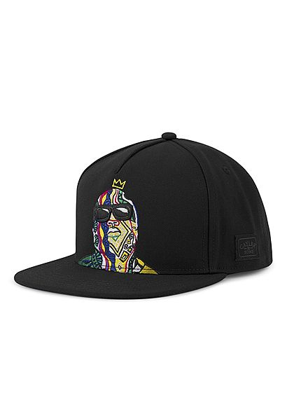 CAYLER & SONS TB Snapback Cap Crowned Stitch schwarz multicolor - Art.-Nr.: 20010276