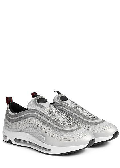 Seventyseven Lifestyle Herren Schuh Sneaker silber