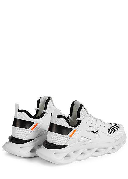 Seventyseven Lifestyle Herren Schuh leichter Running Sneaker weiss schwarz