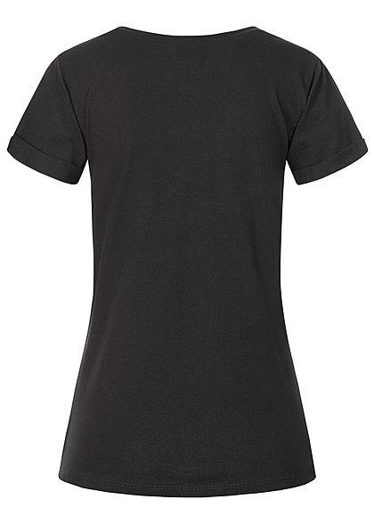 Fresh Tee Women T-Shirt Print black