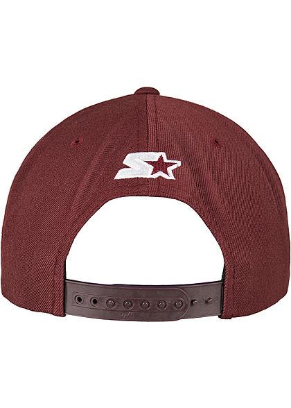 Starter Logo Snapback Cap maroon bordeaux rot