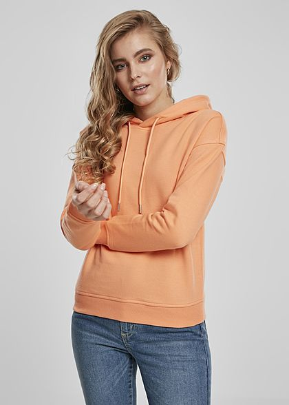 Urban Classics Woman Basic Hoodie orange - Art.-Nr.: 21010227