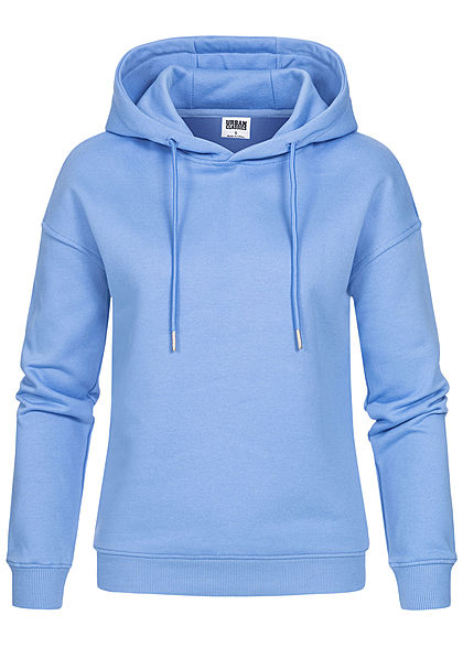 Urban Classics Woman Basic Hoodie clearwater blue - Art.-Nr.: 21010229