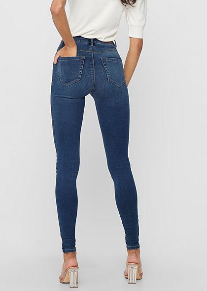 ONLY Women NOOS Skinny Jeans Pants High-Waist dark blue denim