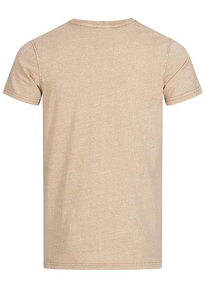 Stitch & Soul Men V-Neck T-Shirt navy blue