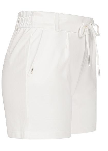 ONLY Women NOOS Poptrash Shorts 2-Pockets cloud dancer white
