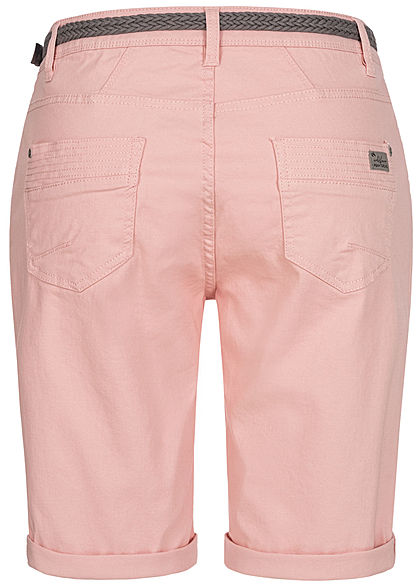 Urban Surface Women Casual Fit Bermuda Jeans Shorts peachskin rose