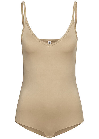 Seventyseven Lifestyle Women V-Neck Body taupe beige - Art.-Nr.: 21058238